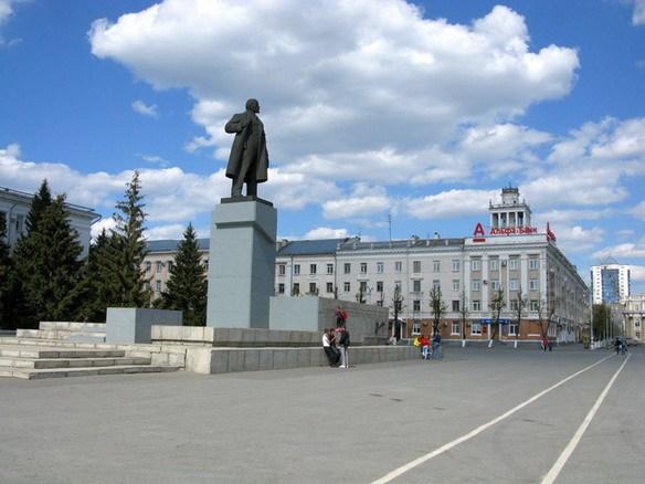 Фото города Кургана - площадь
